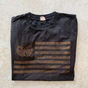 〰️ VINTAGE 90's WU TANG T-shirt unisex size M - L